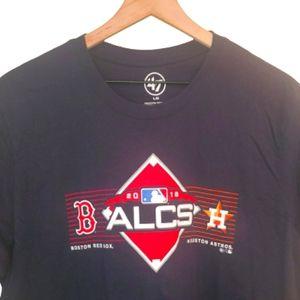 4/$25 47 Brand MLB 2018 ALCS Boston Vs Houston Tee